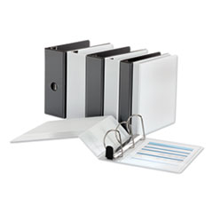 Universal® Deluxe Easy-to-Open D-Ring View Binder