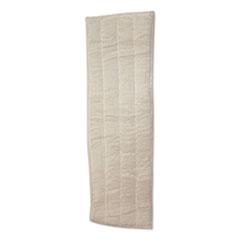 Impact® Microfiber Wet Mops, 18 x 5, White