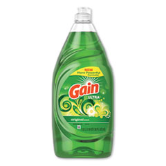 Gain® Dishwashing Liquid, Gain Original, 38 oz Bottle, 8/Carton