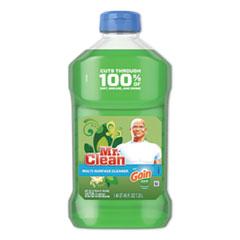 Mr. Clean® Multipurpose Cleaning Solution, 45 oz Bottle, Gain Original Scent, 6/Carton