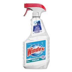 Windex® Multi-Surface Vinegar Cleaner, Fresh Clean Scent, 23 oz Spray Bottle, 8/Carton