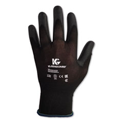 KleenGuard™ G40 Polyurethane Coated Gloves, 220 mm Length, Small, Black, 60 Pairs