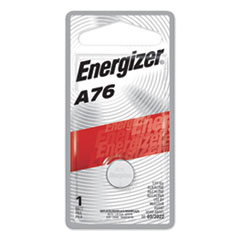 Energizer® A76BPZ Manganese Dioxide Battery, 1.5V