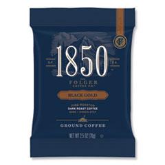 Coffee Fraction Packs, Black Gold, Dark Roast, 2.5 oz Pack, 24 Packs/Carton