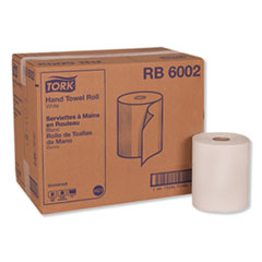 "Tork® Universal Hand Towel Roll, 7.88"" x 600 ft, White, 12 Rolls/Carton"