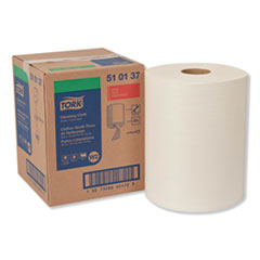 Tork® Cleaning Cloth, 12.6 x 10, White, 500 Wipes/Carton
