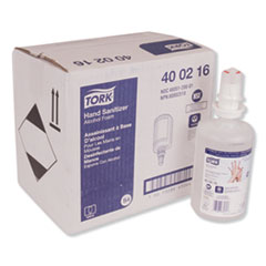 Tork® Premium Alcohol Foam Hand Sanitizer, 950 mL Bottle, Fresh Light Scent, 6/Carton