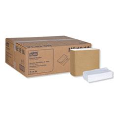 "Tork® Universal Dinner Napkins, 1-Ply, 15"" x 17"", 1/8 Fold, White, 3000/Carton"
