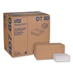 "Tork® Universal Masterfold Dispenser Napkins, 1-Ply, 13"" x 12"", White, 6000/Carton"