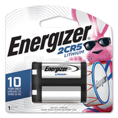 Energizer® 2CR5 Lithium Photo Battery, 6V