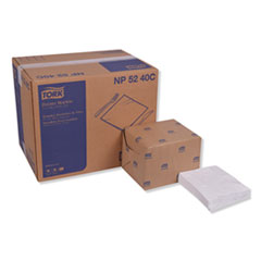 """Tork® Advanced Dinner Napkins, 2-Ply, 15"""" x 16.25"""", White, 375/Pack, 8 Packs/Carton"""