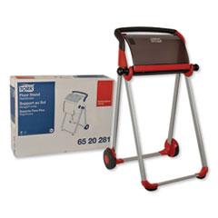 Tork® Performance Floor Stand, 25.43 x 20.87 x 39.61, Red/Smoke