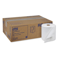 "Tork® Universal Hand Towel Roll, 7.88"" x 800 ft, White, 6 Rolls/Carton"