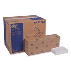 "Tork® Advanced Dinner Napkin,3-Ply,17"" x 16.125"",1/8 Fold, White,1740/CT"