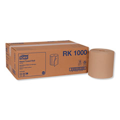 "Tork® Hardwound Roll Towel, 7.88"" x 1000 ft, Natural, 6 Rolls/Carton"