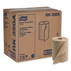 "Tork® Universal Hardwound Roll Towel, 7.88"" x 350 ft, Natural, 12 Rolls/Carton"