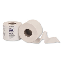Tork® Universal Bath Tissue, Septic Safe, 2-Ply, White, 616 Sheets/Roll, 48 Rolls/Carton