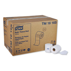 Tork® Universal Bath Tissue, Septic Safe, 2-Ply, White, 500 Sheets/Roll, 96 Rolls/Carton