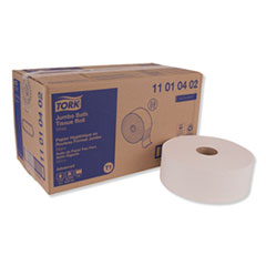 "Tork® Advanced Jumbo Roll Bath Tissue, Septic Safe, 1-Ply, White, 3.48"" x 2247 ft, 6 Rolls/Carton"
