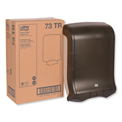 Tork® Folded Towel Dispenser, 11.75 x 6.25 x 18, Smoke