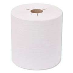 """Tork® Universal Hand Towel Roll, Notched, 8"""" x 800 ft, White, 6 Rolls/Carton"""