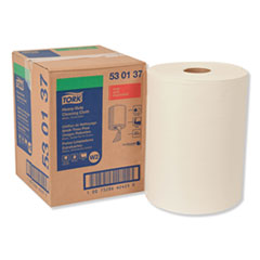 Tork® Heavy-Duty Cleaning Cloth, 12.6 x 10, White, 400/Carton