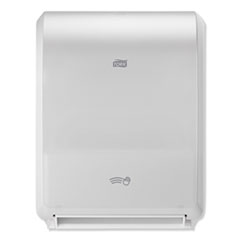 "Tork® Electronic Hand Towel Roll Dispenser, 8"" Roll, 12.32 x 9.32 x 15.95, White"