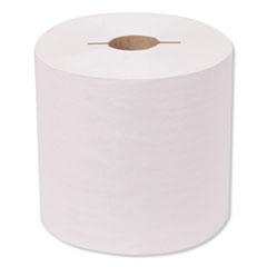 Tork® Universal Hand Towel Roll, Notched, 1-Ply, 7.5 x 10, White, 756/Roll, 6/Carton