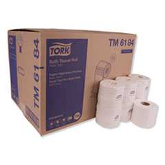 "Tork® Advanced Bath Tissue, Septic Safe, 2-Ply, White, 4"" x 3.75"", 550 Sheets/Roll, 80 Rolls/Carton"