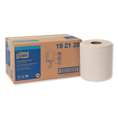 Tork® Paper Wiper Plus, 9.8 x 15.2, White, 300/Roll, 2 Rolls/Carton