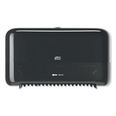 Tork® Elevation Coreless High Capacity Bath Tissue Dispenser,14.17 x 5.08 x 8.23,Black