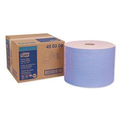 """Tork® Heavy-Duty Paper Wiper, 11.1"""" x 800 ft, Blue"""
