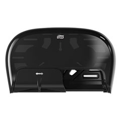 Tork® High Capacity Bath Tissue Roll Dispenser for OptiCore, 16.62 x 5.25 x 9.93,Black