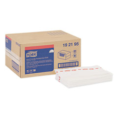 Tork® Foodservice Cloth, 13 x 21, White, 150/Box