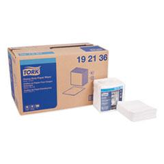 Tork® Heavy-Duty Paper Wiper 1/4 Fold, 12.5 x 13, White, 56/Pack, 16 Packs/Carton