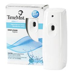 TimeMist® Metered Aerosol Fragrance Dispenser Refills, Crisp & Clean, 3 oz, 6/Carton