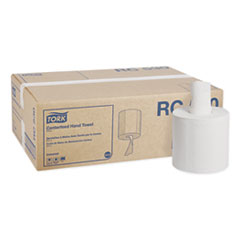 Tork® Centerfeed Hand Towel, 2-Ply, 7.6 x 11.75, White, 530/Roll, 6 Roll/Carton
