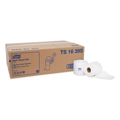 Tork® Universal Bath Tissue, Septic Safe, 1-Ply, White, 1000 Sheets/Roll, 48 Rolls/Carton