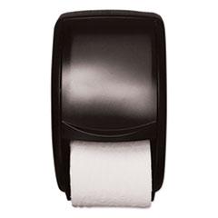 Tork® Twin Standard Roll Bath Tissue Dispenser, Plastic, 7.5 x 7 x 12.75, Smoke