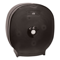 Tork® 4-Roll Tissue Dispenser, 15 x 6 x 13.7, Black Translucent