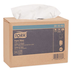 Tork® Multipurpose Paper Wiper, 9.75 x 16.75, White, 125/Box, 8 Boxes/Carton
