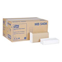 Tork® Universal Multifold Hand Towel, 9.13 x 9.5, White, 250/Pack,16 Packs/Carton