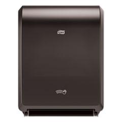 "Tork® Electronic Hand Towel Roll Dispenser, 7.5"" Roll, 12.32 x 9.32 x 15.95, Black"