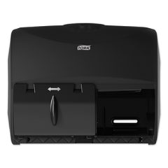 Tork® Twin Bath Tissue Roll Dispenser for OptiCore, 11.06 x 7.18 x 8.81, Black