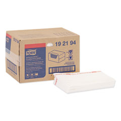 Tork® Foodservice Cloth, 13 x 21, White, 50/Box