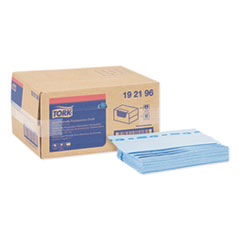 Tork® Foodservice Cloth, 13 x 21, Blue, 150/Box