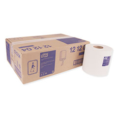 Tork® Centerfeed Hand Towel, 2-Ply, 7.6 x 11.8, White, 600/Roll, 6 Rolls/Carton