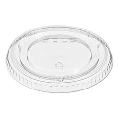 Dart® Non-Vented Cup Lids, Fits 9-22 oz. Cups, Clear, 1000/Carton