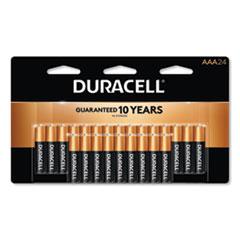 Duracell® CopperTop Alkaline AAA Batteries, 24/Pack