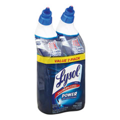 LYSOL® Brand Disinfectant Toilet Bowl Cleaner, Wintergreen, 24 oz Bottle, 2/Pack